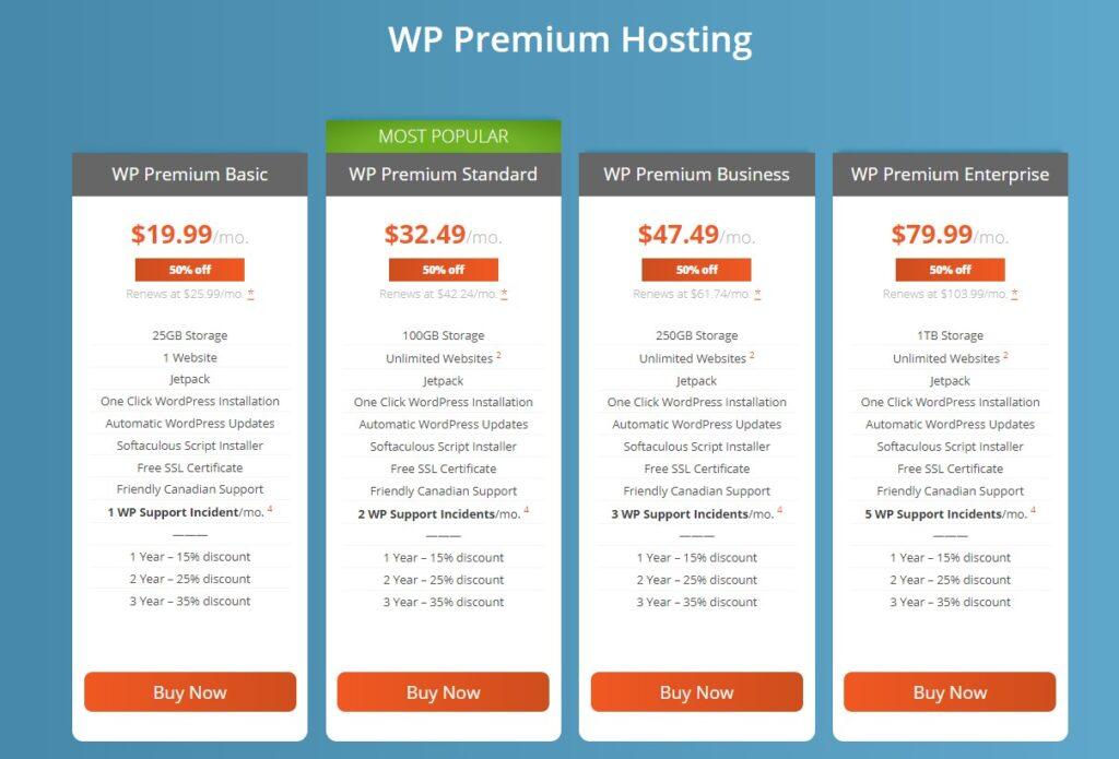 WordPress Premium Hosting